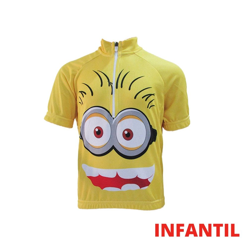 CAMISA CICLISMO INFANTIL MINION