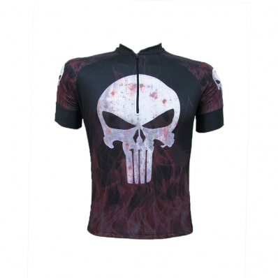 CAMISA CICLISMO THE PUNISHER