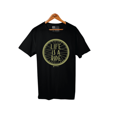 CAMISA CASUAL LIFE IS A RIDE - MASCULINO